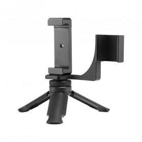 TELESIN Mini Tripod Smartphone Holder for DJI Osmo Pocket - OS-PHS-001 - Black - 3