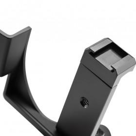 TELESIN Mini Tripod Smartphone Holder for DJI Osmo Pocket - OS-PHS-001 - Black - 4