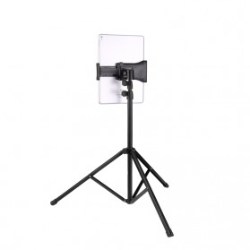 BUBM Portable Stand Tripod Tablet Smartphone 3 Section + Clamp - JY010 - Black - 2