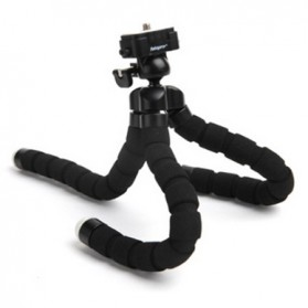 Flexible Tripod for Camera and Smartphone - MS-4J - Black