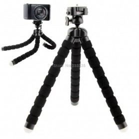 Flexible Tripod for Camera and Smartphone - MS-4J - Black - 2