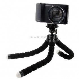 Flexible Tripod for Camera and Smartphone - MS-4J - Black - 3