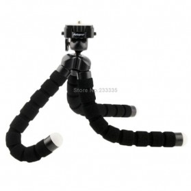 Flexible Tripod for Camera and Smartphone - MS-4J - Black - 4