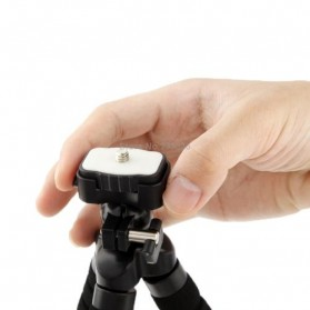 Flexible Tripod for Camera and Smartphone - MS-4J - Black - 5