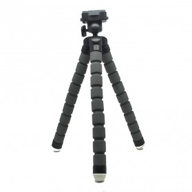 Flexible Tripod for Camera and Smartphone - MS-4J - Gray