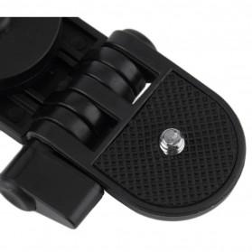 2 in 1 Portable Mini Folding Tripod Jangka for DSLR - Black - 5