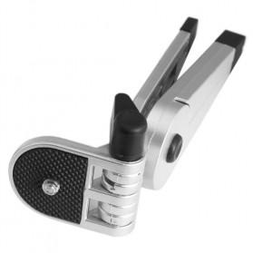 2 in 1 Portable Mini Folding Tripod Jangka for DSLR - Black - 8