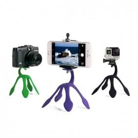 Gekkopod Tripod Kaki Cicak untuk Smartphone Camera GoPro - Black - 5