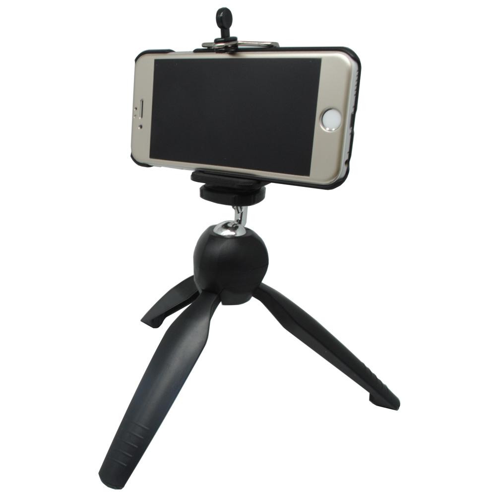 Jual Flexible Tripod Mini Fleksibel Ukuran Medium For Camera and Source · Tripod Mini dengan Smartphone Holder 228 Black 2