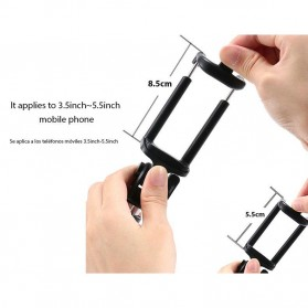 Tongsis Mini Selfie Stick - Black - 2