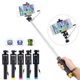 Tongsis Mini Selfie Stick - Black - 5