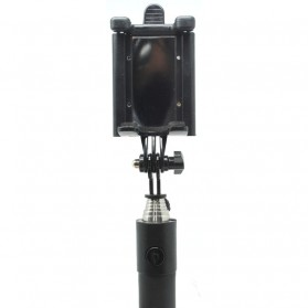 Tongsis Cermin dengan Wired Shutter - Black - 4