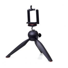 Yunteng Portable Mini Tripod Panoramic Rotation - YT-228 (Replika 1:1) - Black - 2