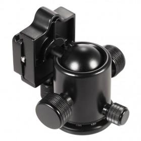 Manbily Ball Head Profesional untuk DSLR - KB-0 - Black - 4