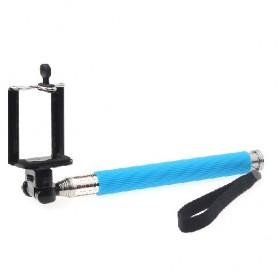 Paket Narsis 2 (Tongsis Z07-1 + Universal Clamp SC-M) - Blue