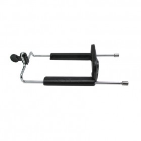 Universal Clamp 12-14.5cm for Smartphone with 0.25 Inch Screw Hole High Long - SC-XL SUPER JUMBO - Black - 2