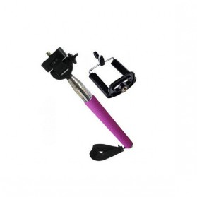 Paket Narsis 2 (Tongsis Z07-1 + Universal Clamp SC-M) - Purple