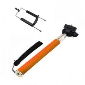 Paket Narsis 4 (Tongsis Z07-1 + Universal Clamp SC-XL SUPER JUMBO) - Orange