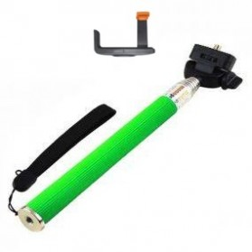 Paket Narsis 5 (Tongsis Z07-1 + Universal L Clamp Orange Flip) - Green