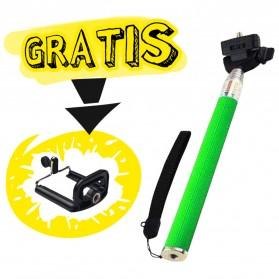 Paket Narsis 1 (Tongsis Z07-1 + Universal Clamp SC-S) - Green