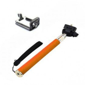 Paket Narsis 1 (Tongsis Z07-1 + Universal Clamp SC-S) - Orange