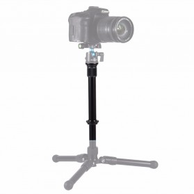 PULUZ Handheld Monopod  3/8 Screw for DSLR - Black