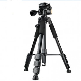 QingZhuangShiDai Professional DSLR Tripod Portable Travel - Q111 - Black - 3