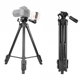Kingjoy Portable Travel Tripod Aluminium - VT-930 - Black