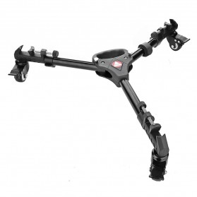 Dolly / Camera Slider - Kingjoy Tripod Dolly Heavy Duty Adjustable Leg - VX-600 - Black