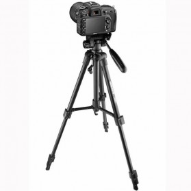 Cambofoto Portable Lightweight Tripod Video & Camera - SAB234 - Black