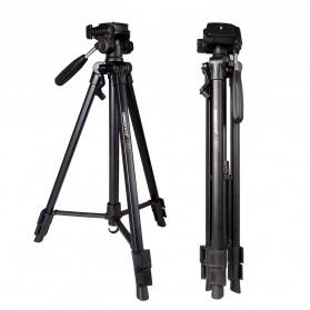Cambofoto Portable Lightweight Tripod Video & Camera - SAB233 - Black