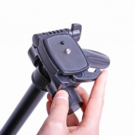 Cambofoto Professional DSLR Tripod + Monopod - SAB264 - Black - 6