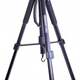 Cambofoto Professional DSLR Tripod + Monopod - SAB264 - Black - 7