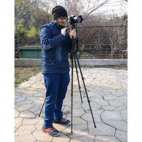Cambofoto Professional DSLR Tripod + Monopod - SAB264 - Black - 8