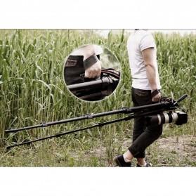 Cambofoto Professional DSLR Tripod + Monopod - SAB264 - Black - 9