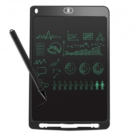 Papan Gambar Digital Monochrome LCD Drawing Graphics Tablet 10 Inch - AS1010A - Black