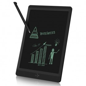 OwlTree Papan Gambar Digital Monochrome LCD Drawing Graphics Tablet 10 Inch - HYX100H02 - Black