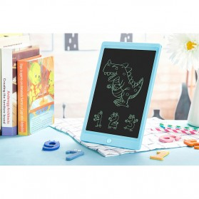 OwlTree Papan Gambar Digital Monochrome LCD Drawing Graphics Tablet 10 Inch - HYX100H02 - Black - 6