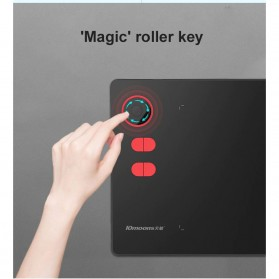 10moons Graphics Digital Drawing Tablet Roller Key with Stylus Pen - G20 - Black - 5