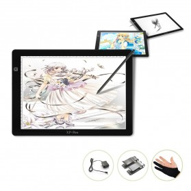 Pen Tablet / Graphic Tablet - XP-Pen LED Tracing Light Pad Graphics Drawing Tablet A4 Paper - CPA4 - Black