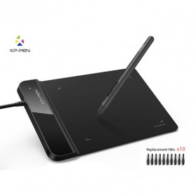 XP-Pen Smart Graphics Drawing Pen Tablet with Passive Pen - G430S - Black