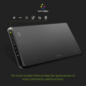 XP-Pen Wireless Smart Graphics Drawing Pen Tablet with Passive Pen - Star 05 - Black - 7