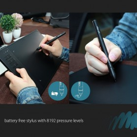 XP-Pen Wireless Smart Pen Tablet with Passive Pen - Star 06 - Black - 5