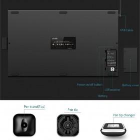 XP-Pen Wireless Smart Pen Tablet with Passive Pen - Star 06 - Black - 7