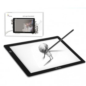 XP-Pen LED Tracing Light Pad Graphics Drawing Tablet A4 Paper - CPA4S - Black