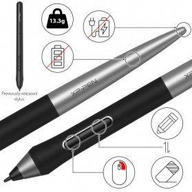XP-Pen Deco Pro Small Graphics Digital Drawing Tablet with Passive Pen - Black - 5