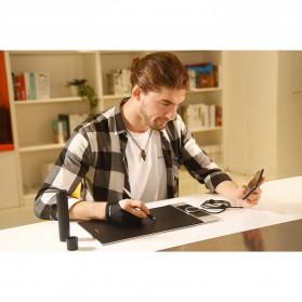 XP-Pen Deco Pro Medium Graphics Digital Drawing Tablet with Passive Pen - Black - 10
