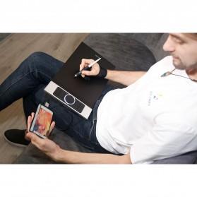 XP-Pen Deco Pro Medium Graphics Digital Drawing Tablet with Passive Pen - Black - 11