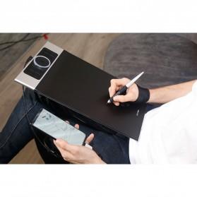 XP-Pen Deco Pro Medium Graphics Digital Drawing Tablet with Passive Pen - Black - 12