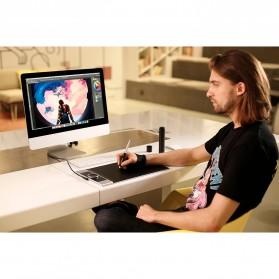 XP-Pen Deco Pro Medium Graphics Digital Drawing Tablet with Passive Pen - Black - 14